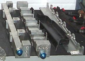 Mazda 323 ST Zytek Cosworth Ford V6 KL engine fuel lines Einspritzleiste