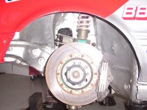 Audi 80 quattro competition ST brake front Bremse vorn