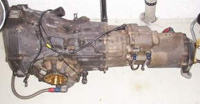 Audi 80 quattro competition ST gearbox Getriebe 680
