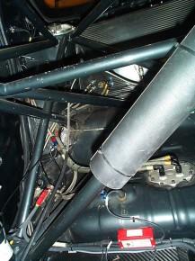 Ford Mondeo ST 97 Reynard cage roll bar rear